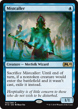 Mistcaller - Magic: the Gathering