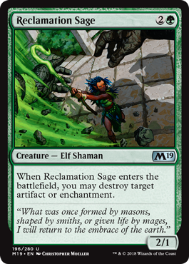 Reclamation Sage - Magic: the Gathering