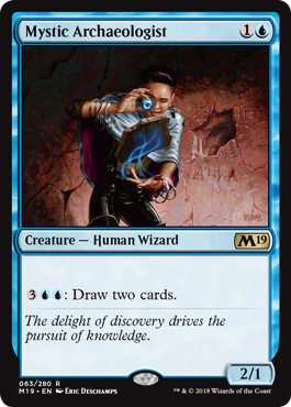 Mystic Archaeologist - Magic: the Gathering