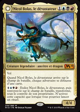 Nicol Bolas, le dévastateur