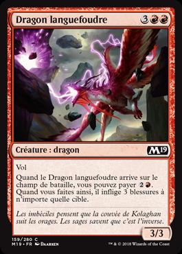 Dragon languefoudre