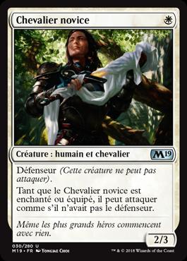 Chevalier novice