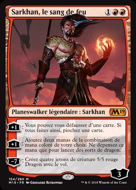 Sarkhan, le sang de feu