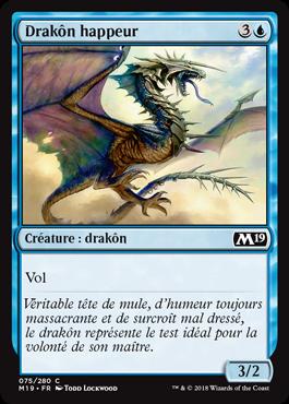 Drakôn happeur