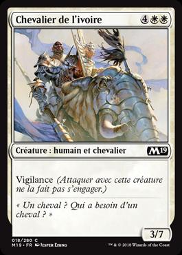 Chevalier de l'ivoire