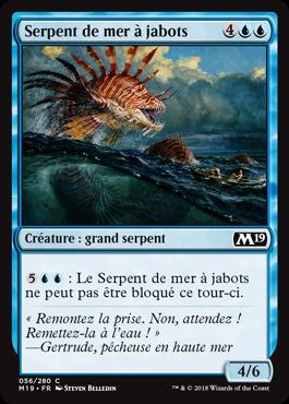 Serpent de mer à jabots