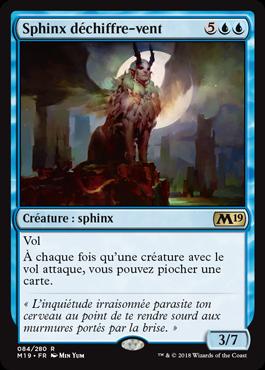Sphinx déchiffre-vent