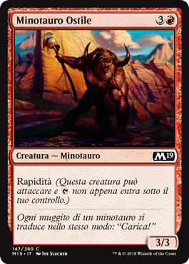 Minotauro Ostile