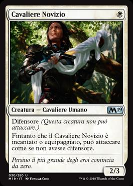 Cavaliere Novizio