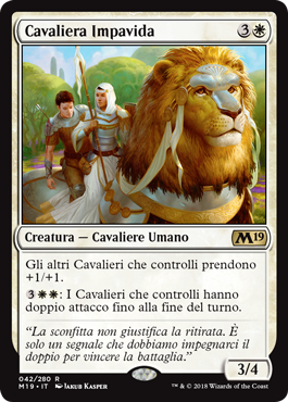 Cavaliera Impavida