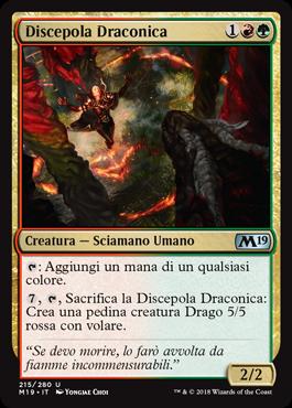 Discepola Draconica