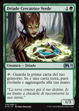 Driade Cercatrice Verde