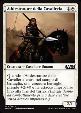 Addestratore della Cavalleria