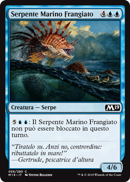 Frilled Sea Serpent