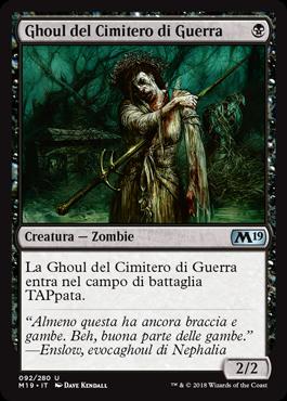 Ghoul del Cimitero di Guerra