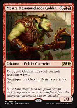 Mestre Desmantelador Goblin