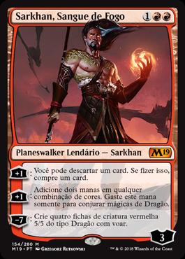 Sarkhan, Sangue de Fogo