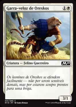 Garra-veloz de Oreskos