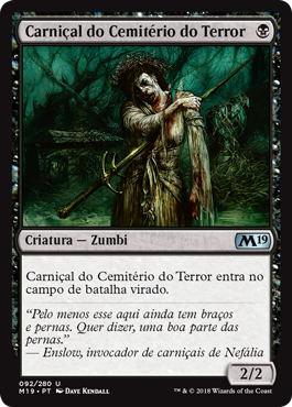 Carniçal do Cemitério do Terror
