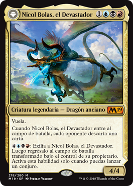 Nicol Bolas, el Devastador