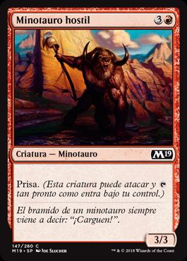 Minotauro hostil