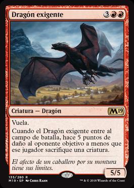 Dragón exigente