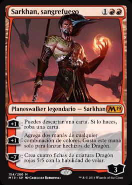 Sarkhan, sangrefuego