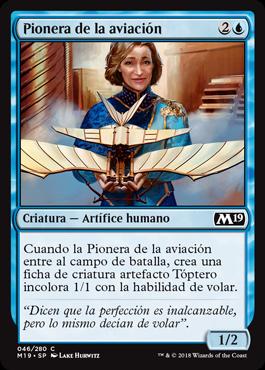 Pionera de la aviación