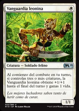 Vanguardia leonina