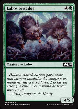 Lobos erizados