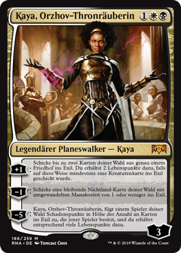 Kaya, Orzhov-Thronräuberin