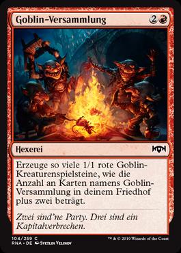 Goblin-Versammlung