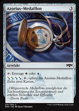 Azorius-Medaillon