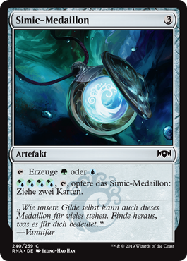 Simic-Medaillon