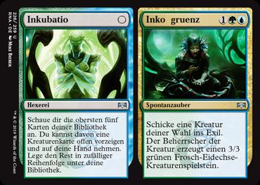 Inkubation // Inkongruenz