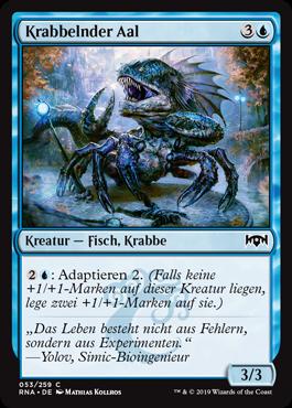 Krabbelnder Aal