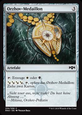Orzhov-Medaillon