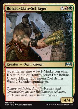 Bolrac-Clan-Schläger