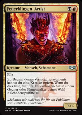 Feuerklingen-Artist