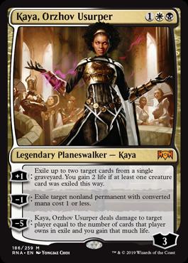 Kaya, Orzhov Usurper - Magic: the Gathering
