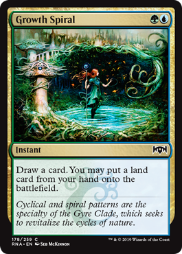 Growth Spiral - Magic: the Gathering