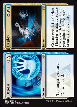 Depose // Deploy - Magic: the Gathering