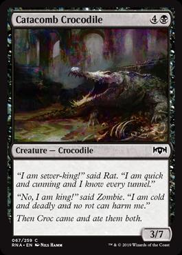 Catacomb Crocodile