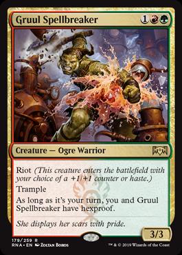 Gruul Spellbreaker - Magic: the Gathering