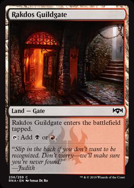 Rakdos Guildgate (b)