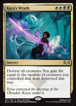Kaya's Wrath - Magic: the Gathering