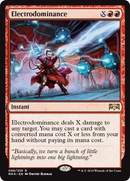 Electrodominance - Magic: the Gathering