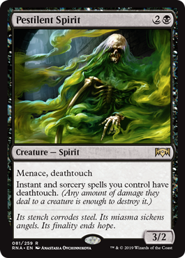 Pestilent Spirit - Magic: the Gathering