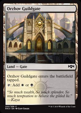 Orzhov Guildgate (a)