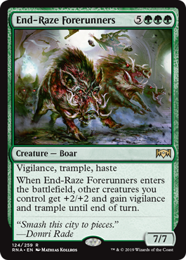 End-Raze Forerunners - Magic: the Gathering